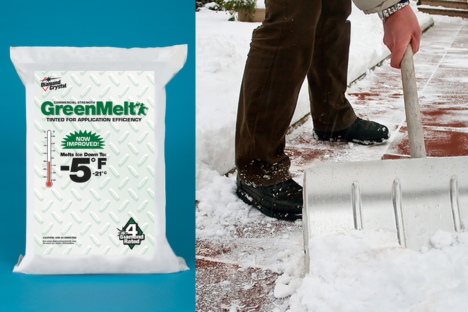 Greenmelt Package and Shoveling Snow